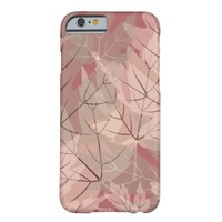 Girly Camo; Leaves in Pinks, Grays and Creams