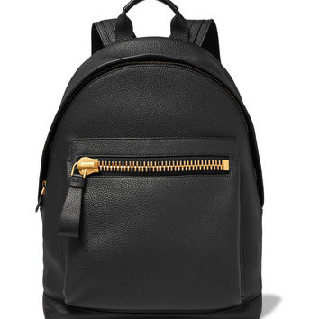 TOM FORD - Buckley Grained-Leather Backpack