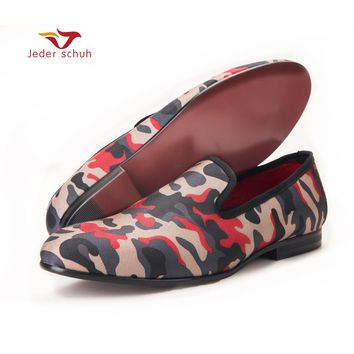 Men loafers Popular classic camouflage a timeless theme every man's dream of war camouflage shoes men flats You are hero