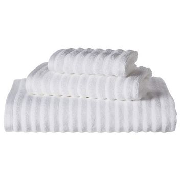 Threshold™ Textured 3-pc. Bath Towel Set