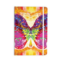 "Anne LaBrie ""Butterfly Spirit"" Pink Yellow Everything Notebook"