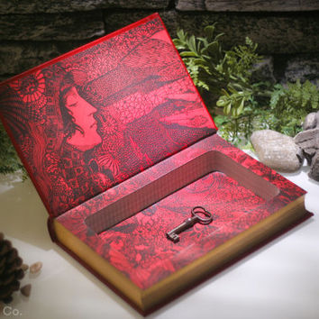 Hollow Book Safe - Edgar Allan Poe - Tales of Mystery and Imagination (LEATHER BOUND)