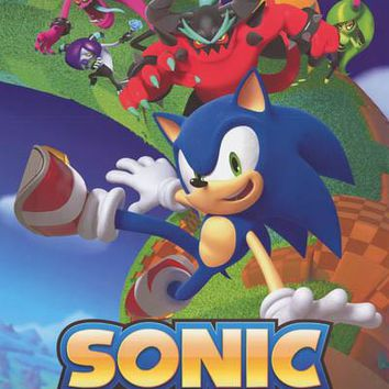Sonic the Hedgehog Lost World Video Game Poster 22x34