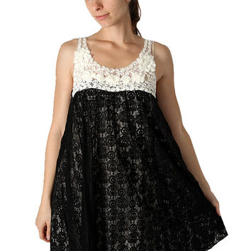 Yumi Alexa Lace Tunic Dress