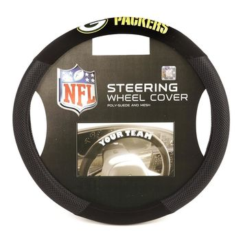 Green Bay Packers NFL Mesh Steering Wheel Cover
