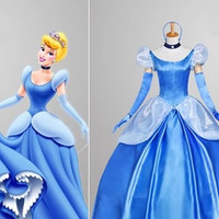 Cinderella Blue Dress, Cinderella Blue Costume, Cinderella Dress