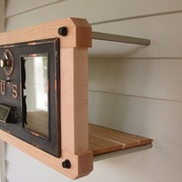 Modern Vintage Mailbox by studio1212furniture on Etsy