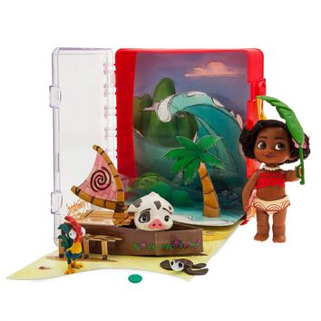 Disney Animators' Collection Moana Mini Doll Playset New With Tags