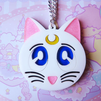Artemis Cat Sailor Moon Necklace