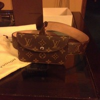 ONETOW Louis Vuitton monogram Pochette belt