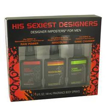 Designer Imposters Raw Power Gift Set By Parfums De Coeur
