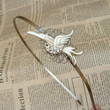 Steampunk Flying Bird Headband Vintage Style by sallydesign