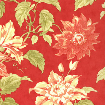 Tapestry Mallorco by Joanna Figueroa of Fig Tree Quilts for Moda Fabrics, coral