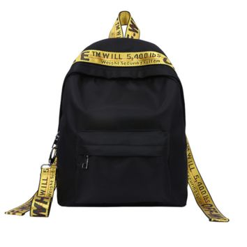 """OFF WHITE"" Trending Fashion Sport Laptop Bag Shoulder School Bag Backpack"