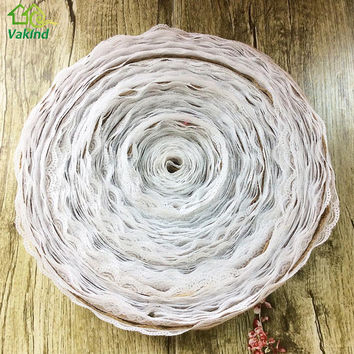 10M/Roll Natural Jute Burlap Hessian Lace Ribbon Roll+White Lace Vintage Wedding Decoration Party Christmas Crafts Decorative