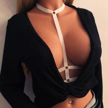 Vest Spaghetti Strap Bra Fashion Summer Stylish Sexy Underwear [3489561575504]