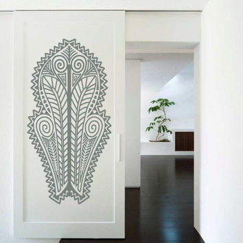Wall Decor Vinyl Sticker Room Decal Africa Pattern Art Ornament Vegetation Culture (s190)