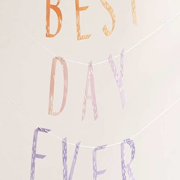 Best Day Ever Banner - Urban Outfitters