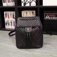 CHANEL WOMEN'S NEW STYLE LEATHER BACKPACK BAG