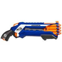 NERF N-STRIKE ELITE ROUGH CUT 2X4 Blaster | Outdoor Games for ages 8 YEARS & UP | Hasbro