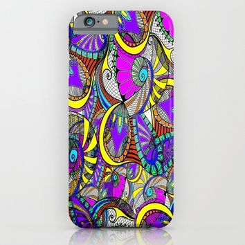 crazy zentangle iPhone & iPod Case by Haroulita