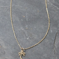 LA Hearts Palm Tree Necklace at PacSun.com