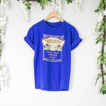 Vintage Sierra Nevada Brewing Beer T Shirt
