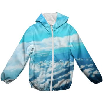 Above the world rain jacket