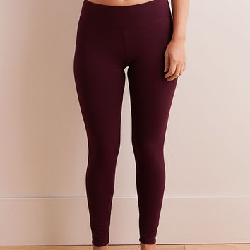 Aerie Chill Legging, Deep Plum