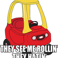 Cozy Coupe - They see me rollin'