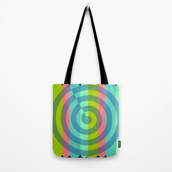 zappwaits satisfaction Tote Bag by netzauge