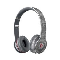 Sparkling Silver Vinyl Wrap for Beats Solo HD Headphone (HEADPHONE NOT INCLUDED)