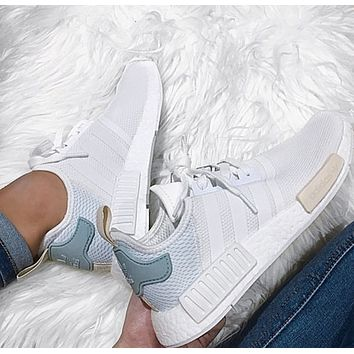 adidas NMD Woman Men Running Breathable Sneakers Sport Shoes