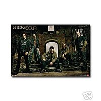 Stone Sour Poster Amazing Group Shot Rare HOT NEW 24x36