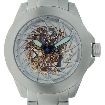 Android AD468BRS Men's Ninja 50 Skeleton Automatic Watch