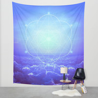 All But the Brightest Stars (Sirius Star Geometric) Wall Tapestry by Soaring Anchor Designs