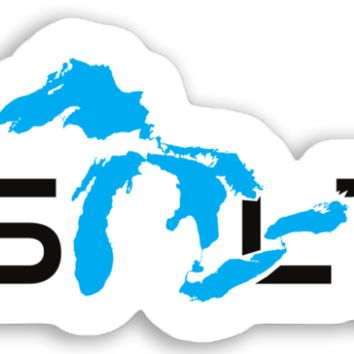 Great Lakes Unsalted Sticker