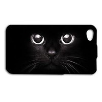 Adorable Black Kitty Cat Eyes Case iPhone iPod New Cover Cool Phone Pretty