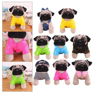 1pcs Little Plush Pendant Lovely Dog Star Toys A Gift For A Friend The Girls The Street Decoration A Birthday Present Pug Toys