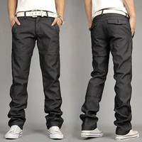New Fashion Men Casual Pants