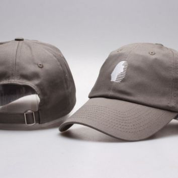 The New Last Kings Visor Unisex Outdoor Couple's Cotton Baseball Cap - Gray
