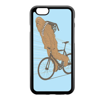 Chewbacca Biking Star Wars iPhone 6 Case