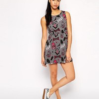 Worn By Halloween Monsters Horror Sleeveless Dress at asos.com