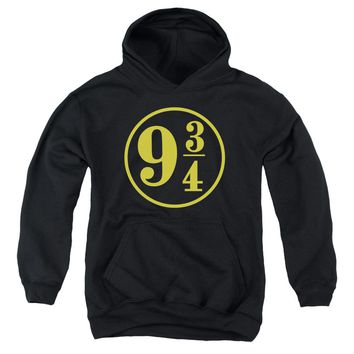 Harry Potter - 9 3 - 4 Youth Pull Over Hoodie