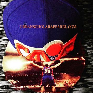 Cleveland Cavs Authentic New Era Snapback or Fitted Cap with Lebron Custom
