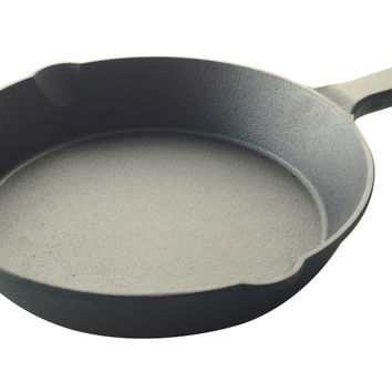 """10"""" Cast Iron Frying Pan, Fry Pans & Skillets"""