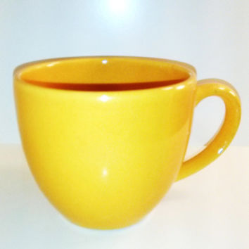 FREE SHIPPING!! Waechtersbach Germany Yellow Mug Coffee Mug