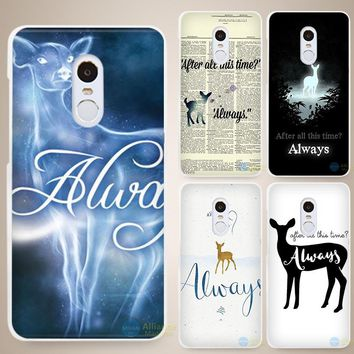 Quote Harry potter quotes Hard White Cell Phone Case Cover for Xiaomi Mi Redmi Note 4 Pro 4A 4C 4X 5X 5 6
