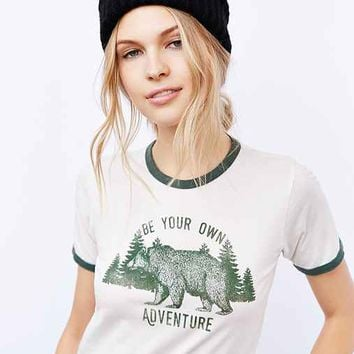 Truly Madly Deeply Bear Adventures Ringer Tee