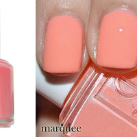 Essie Nail Polish (E722-Haute As Hello) NEW BRIGHT CORAL ORANGE COLOR